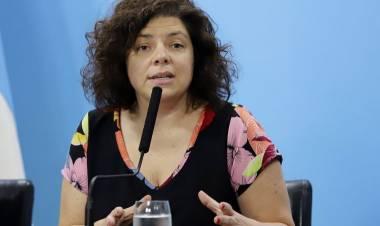 LA MINISTRA DE SALUD DE LA NACIÓN TIENE CORONAVIRUS Y PERMANECERÁ AISLADA.