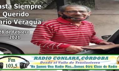 VILLA DOLORES : UNA TRISTE NOTICIA ...SE NOS FUE MARIO ABEL VERAGUA....