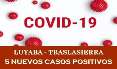 LUYABA : 5 CASOS NUEVOS POSITIVOS DE COVID-19,EN LA JORNADA  DEL MARTES 30 DE MARZO DE 2021.