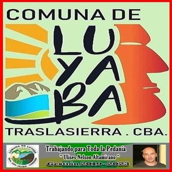Comuna de Luyaba,Traslasierra Córdoba.