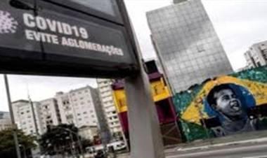 CORONAVIRUS EN BRASIL : CIERRE TOTAL EN SAN PABLO,POR COLAPSO SANITARIO.