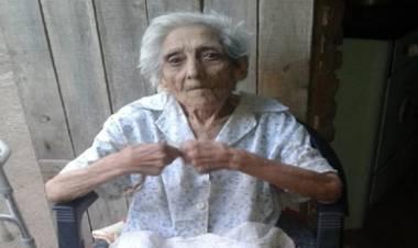 CÓRDOBA : UNA VEZ ,LA JUSTICIA AVANZA EN EL DESALOJO DE RAMONA BUSTAMANTE DE 94 AÑOS, DE SUS TIERRAS.