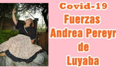 LUYABA : HABLAMOS CON LA PROFESORA DE DANZAS ANDREA PEREYRA Y ENTERATE COMO ESTA HOY, TRAS HABER DADO POSITIVO DE COVID-19.
