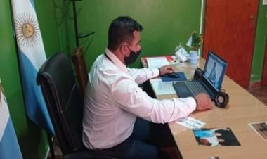 LOS CERRILLOS : VÍDEO CONFERENCIA CON MINISTERIO DE INDUSTRIA Y COMERCIO PROVINCIA DE CÓRDOBA