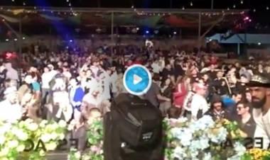 VÍDEO : MULTITUDINARIA FIESTA EN COMUNA SAN ROQUE,CÓRDOBA - CAUSÓ REVUELO.
