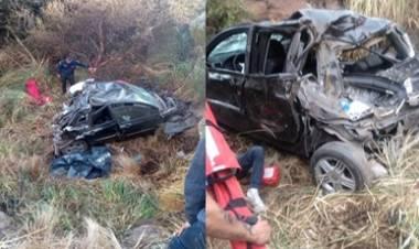 ALTAS CUMBRES - GRAVE ACCIDENTE : FALLECIERON DOS MENORES, CERCA DEL CÓNDOR.