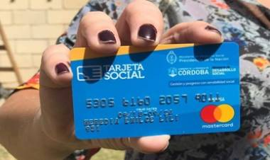 CÓRDOBA : TARJETA SOCIAL, EL MARTES 14 COMIENZA EL PAGO DE SEPTIEMBRE.