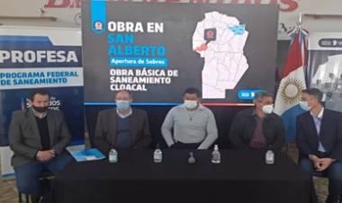 PANAHOLA, TRASLASIERRA : OBRAS DE SANEAMIENTO CLOACAL, CON CUATRO OFERENTES.