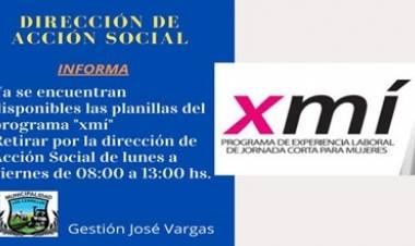 """LOS CERRILLOS, TRASLASIERRA : SE ESTÁN ENTREGANDO LAS PLANILLAS DEL PROGRAMA """"XMI"""""""