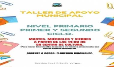 ATENCIÓN LOS CERRILLOS : TALLER DE APOYO MUNICIPAL.  (NIVEL PRIMARIO)