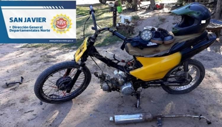 CONLARA,CÓRDOBA : RECUPERAN DOS MOTOS ROBADAS EN VILLA DOLORES.
