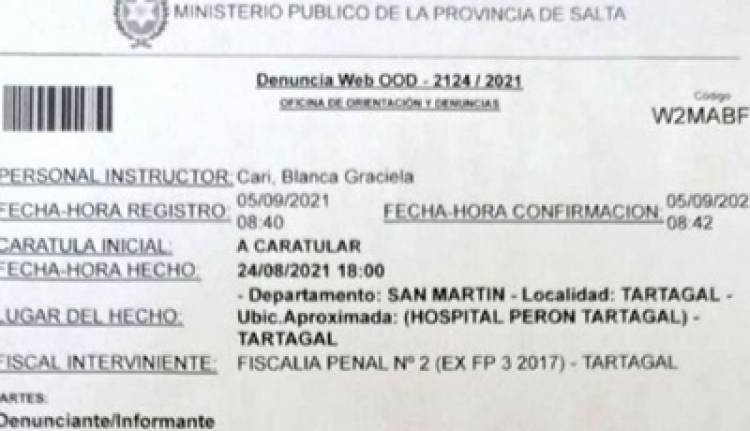 """""""MATÓ A MI BEBÉ"""" : DENUNCIÓ A LA MÉDICA QUE LE HIZO UN ABORTO."""