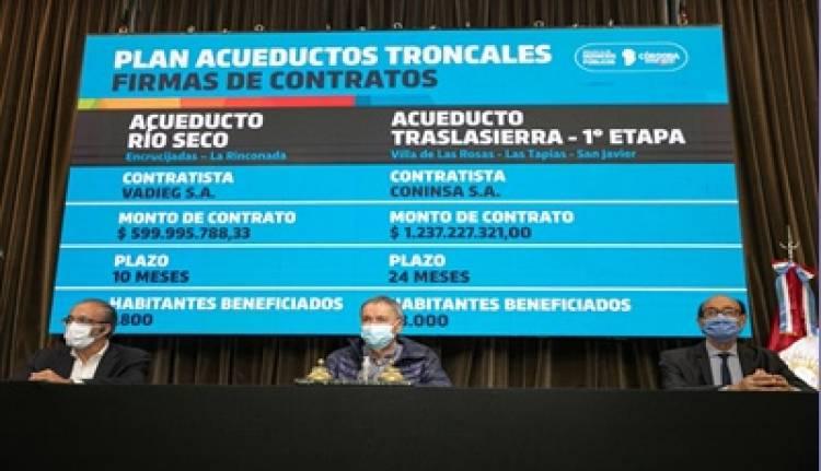 TRASLASIERRA : SE FIRMÓ EL CONTRATO PARA LA EJECUCIÓN DE ACUEDUCTO.