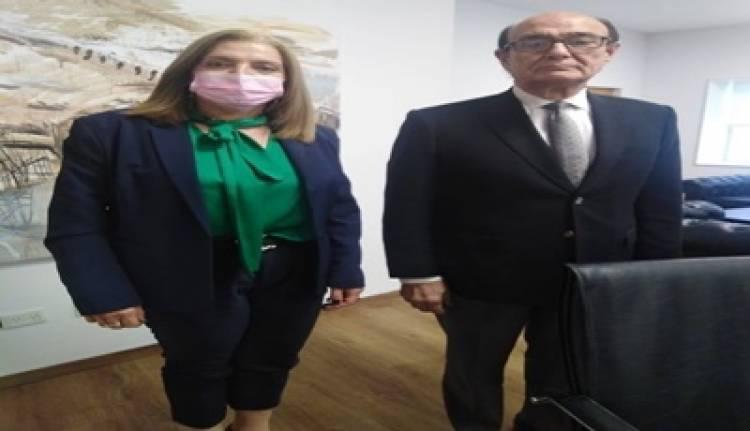 CÓRDOBA : REUNIÓN DE LA INTENDENTE PROF. GLORIA PEREYRA Y EL LEGISLADOR DR OSCAR GONZALEZ.
