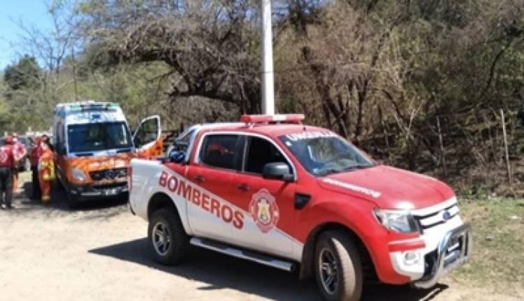 RESCATARON A LA MUJER QUE ESTABA DESAPARECIDA DESDE HACE CUATRO DÍAS EN UNQUILLO, CÓRDOBA.