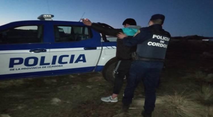 TRASLASIERRA : ALLANAMIENTO Y DETENCIÓN POR EL INCENDIO DE CERRO MOGOTE.