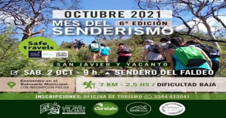 SAN JAVIER, TRASLASIERRA : MES DEL SENDERISMO Y VAMOS AL SENDERO DEL FALDEO, EL SÁBADO 2 DE OCTUBRE.